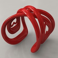 Small Infinite Love Bracelet 3D Printing 15821