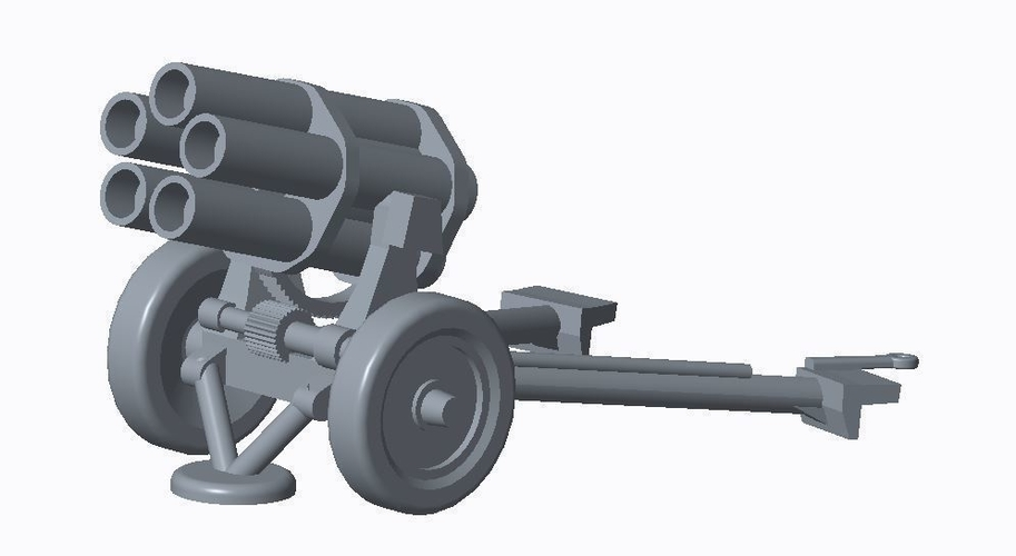 German Artillery Pack  3D Print 158253