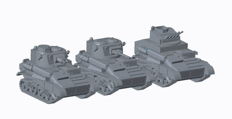 British Early War Pack 3D Print 158272