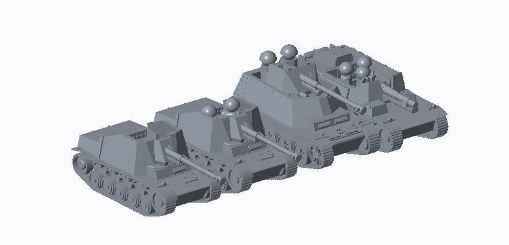 Panzer II pack (revised) 3D Print 158301
