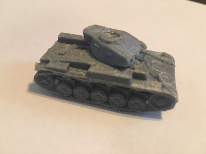 Panzer II pack (revised) 3D Print 158303