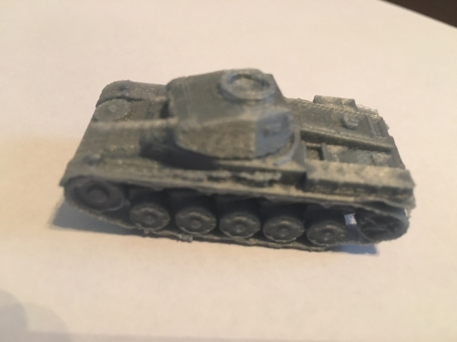 Panzer II pack (revised) 3D Print 158304