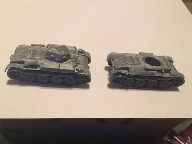 Panzer II pack (revised) 3D Print 158307