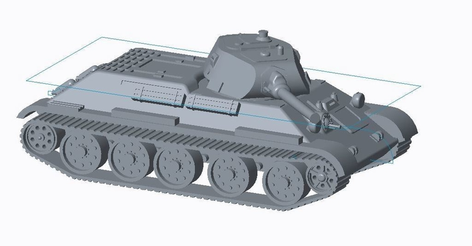 T-34/76 Tank Pack (Revised) 3D Print 158327
