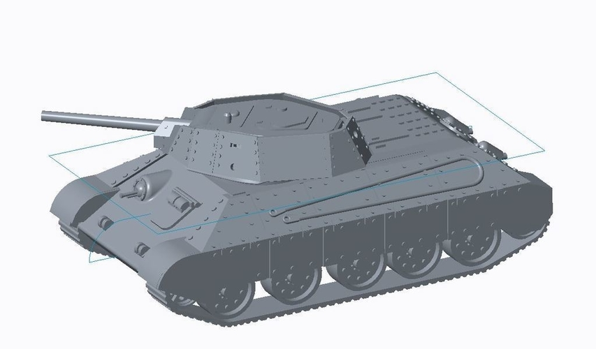 T-34/76 Tank Pack (Revised) 3D Print 158330