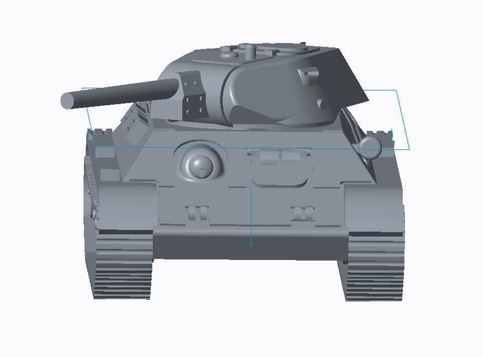 T-34/76 Tank Pack (Revised) 3D Print 158331