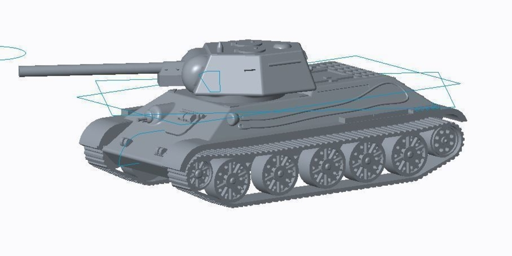 T-34/76 Tank Pack (Revised) 3D Print 158334
