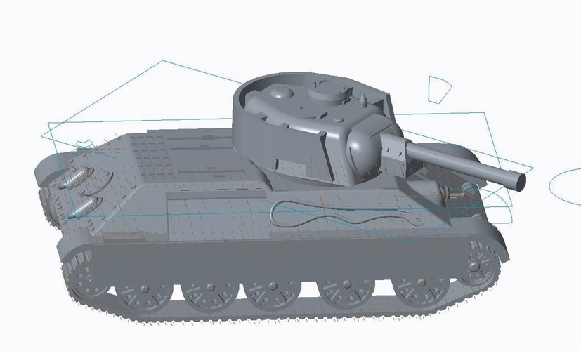 T-34/76 Tank Pack (Revised) 3D Print 158337