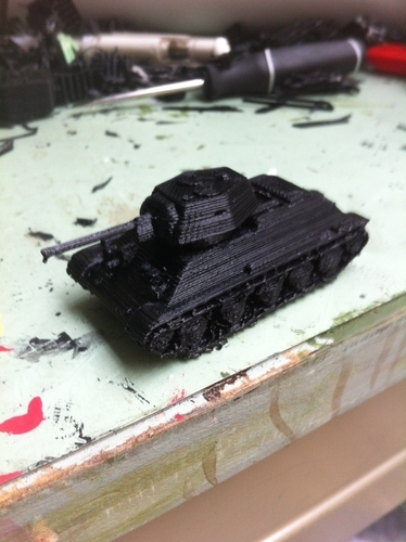 T-34/76 Tank Pack (Revised) 3D Print 158338