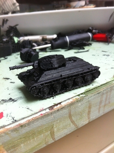 T-34/76 Tank Pack (Revised) 3D Print 158339