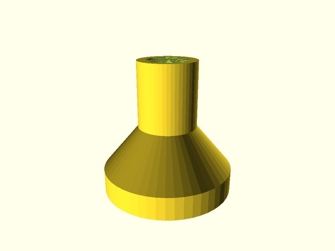 Funnel for oil filling chain saw 3D Print 158385