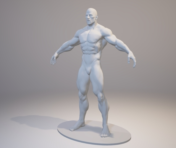 bodybuilder free 3d print 158393 - Free Printed Pictures
