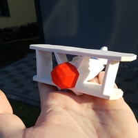Small No Glue Remix of Flowalistik's Stoyries - Low-Poly Plane 3D Printing 158418