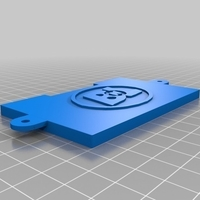 Small Ultimate Wall-E Battery Cover 3D Printing 158439