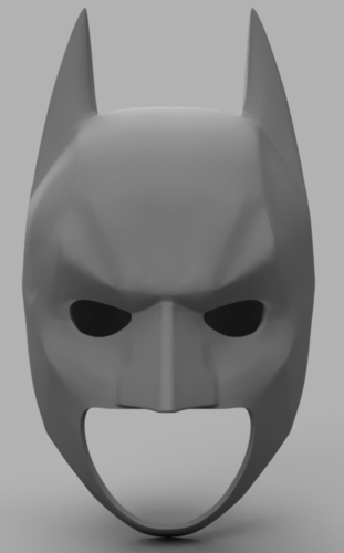 The Dark Knight Rises Batman Cowl 3D Print 158481