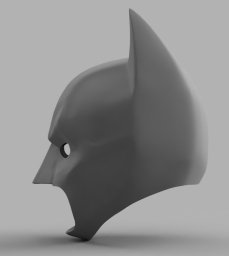 The Dark Knight Rises Batman Cowl 3D Print 158482