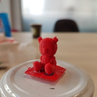 Small Tiny Teddy 3D Printing 158499