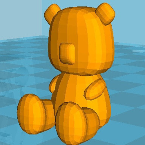 Tiny Teddy 3D Print 158501