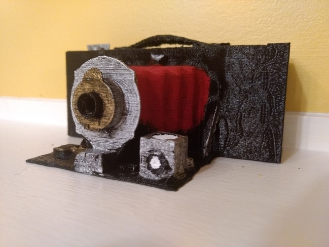 Antique Camera 3D Print 158508