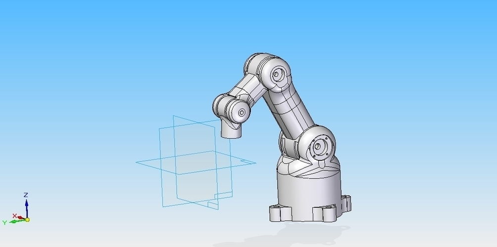 6 axis Robot - design 3D Print 158520