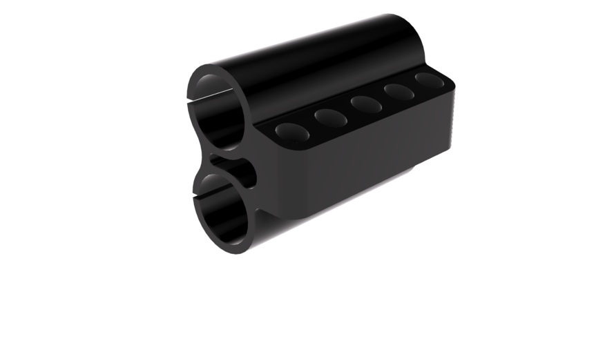 Savage Model 42 5 Round Bullet Holder 3D Print 158643