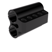 Small Savage Model 42 5 Round Bullet Holder 3D Printing 158643