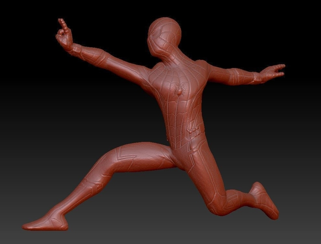 Spiderman Homecoming Various poses 3D Print 158696
