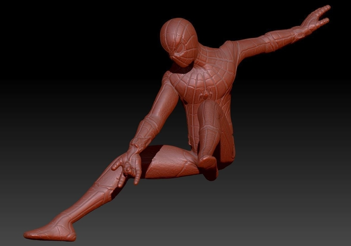 Spiderman Homecoming Various poses 3D Print 158699