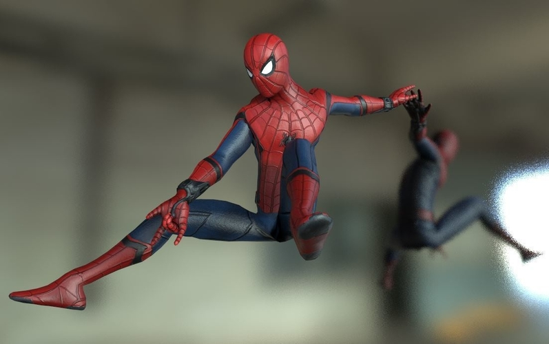 Spiderman Homecoming Various poses 3D Print 158700