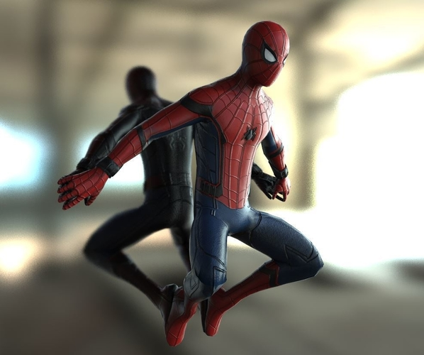 Spiderman Homecoming Various poses 3D Print 158702