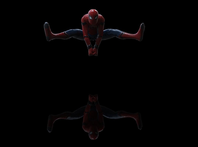 Spiderman Homecoming Various poses 3D Print 158704