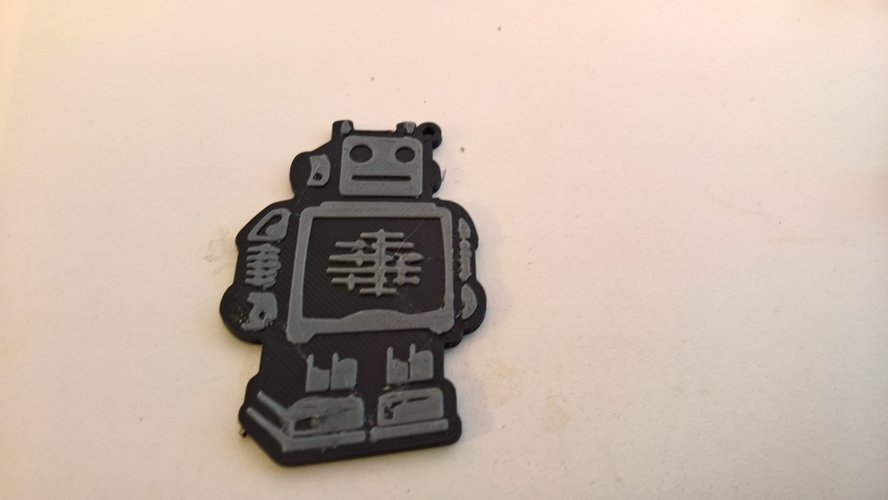 Ultimaker keychain 3D Print 158757