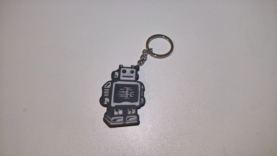 Ultimaker keychain 3D Print 158764