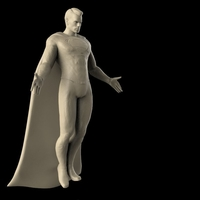 Small Superman Messiah and Flying Pose- Updated 3D Printing 158802