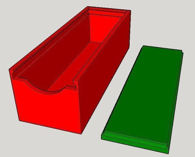 Simple Sliding Box 3D Print 158823