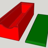 Small Simple Sliding Box 3D Printing 158823