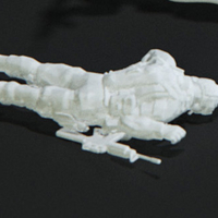 Small Modern Soldier lay on front (esc: 1/24) 3D Printing 158890