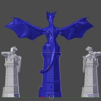 Small  Fantasy trophies 3D Printing 158903