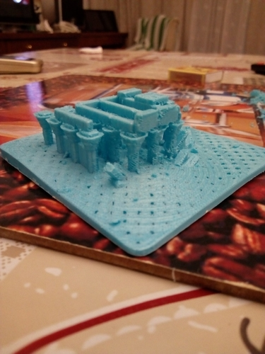 Egyptian Ruins Temple 3D Print 158910