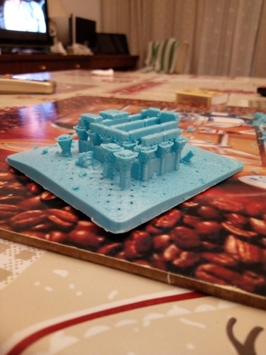 Egyptian Ruins Temple 3D Print 158911