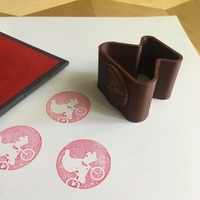 Small BRANDED | Rubber Stamp Logo 3D Printing 159261