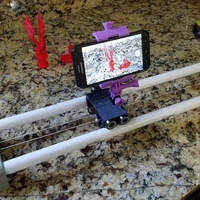 Small Simple Camera Slider 3D Printing 159266