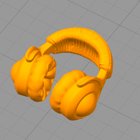 Small Pocket Full Headphones 3D Printing 159283