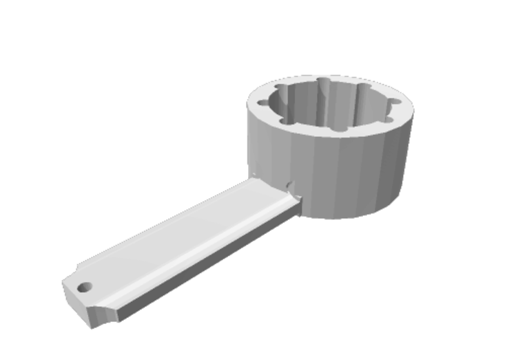 Jerrycan opener / closer big 3D Print 159284