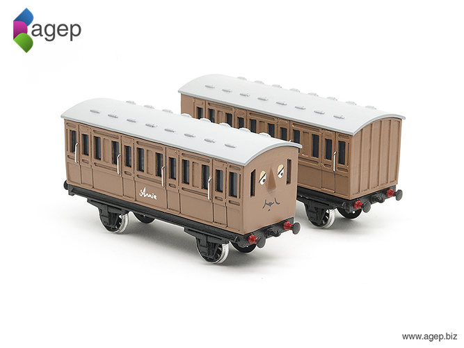 Annie and Clarabel - Thomas & Friends 3D Print 159296