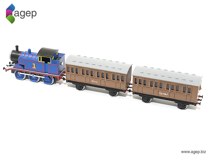 Annie and Clarabel - Thomas & Friends 3D Print 159298
