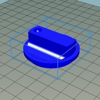 Small Handle climate control 3D Printing 159309