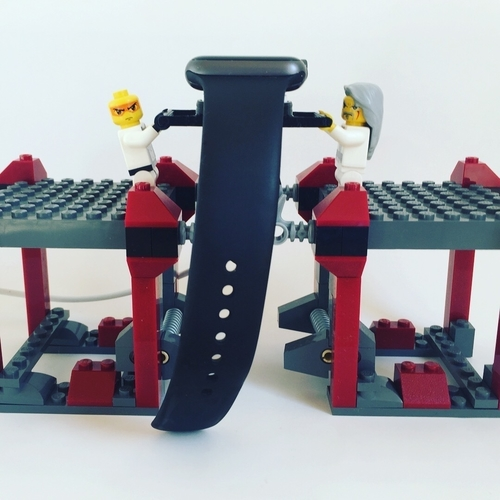 lego apple watch stand 3D Print 159328