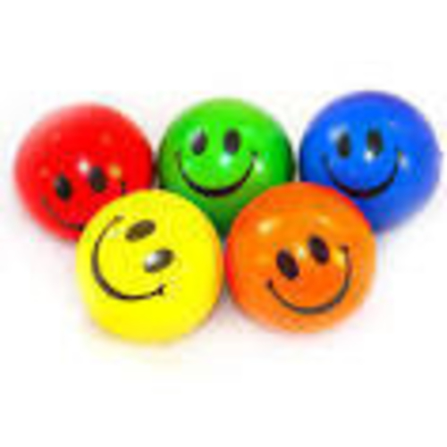 Emoji Stress Ball: Happy 3D Print 159347