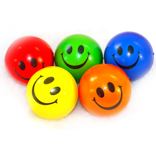 Emoji Stress Ball: Happy 3D Print 159350